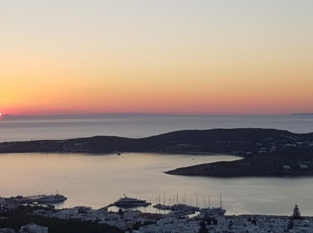 Golden Sunset Paros