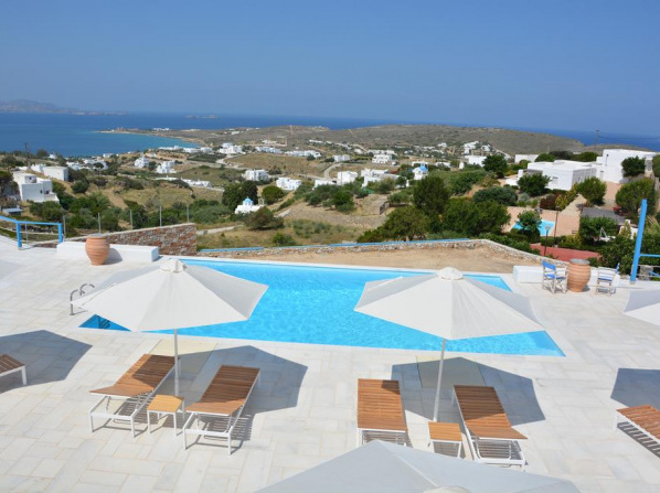 White Blue Houses & Apartments Paros