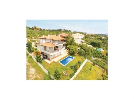 Five-Bedroom Holiday Home in Agios Ioannis Theolo.