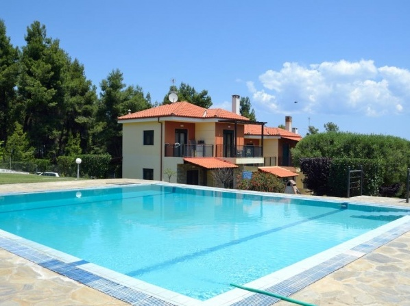 Villa with view to the sea and forest