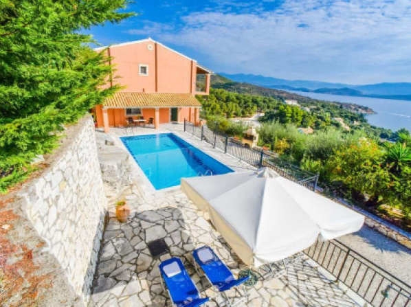 Agios Stefanos Sinion Villa Sleeps 6 Pool Air Con