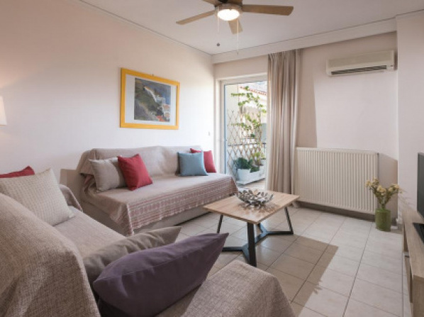 City apartment with private parking