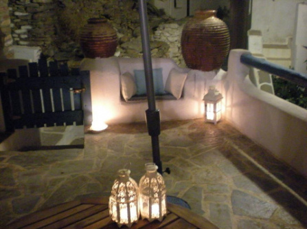 Traditional stone house,200years old Lefkes, Paros