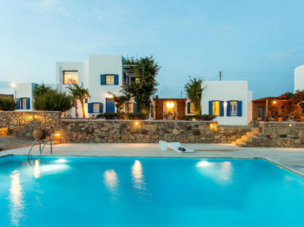 Villa Iris in Ag. Lazaros 5Bed(Pool-Seaview)